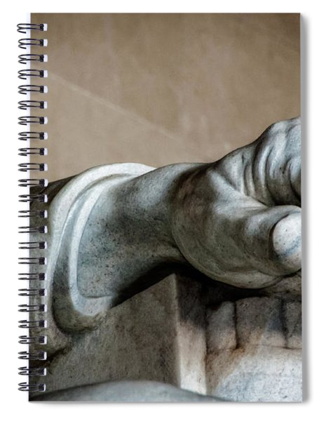 Lincoln's Left Hand Spiral Notebook