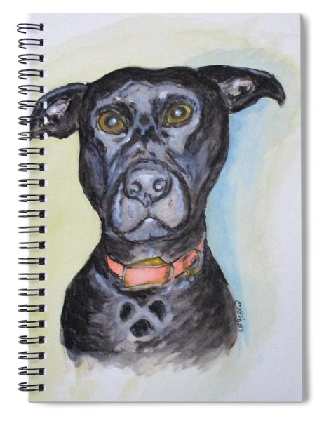 Linda's Doggie Spiral Notebook