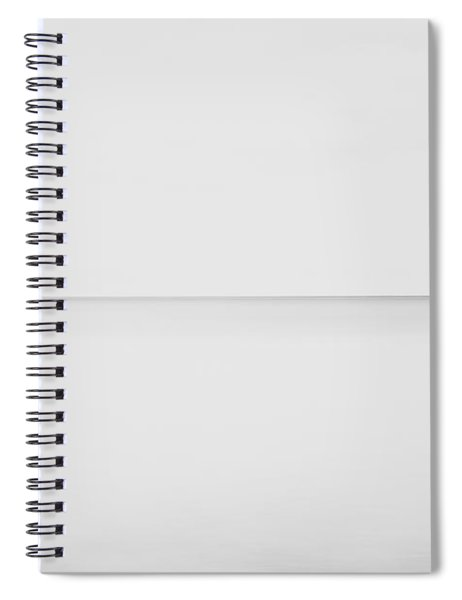 Line On The Horizon Spiral Notebook
