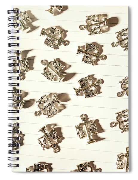 Lines Of Legalities Spiral Notebook