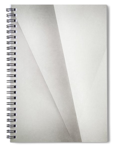 Lines On Paper Spiral Notebook