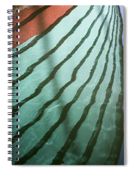 Lines On The Water Spiral Notebook