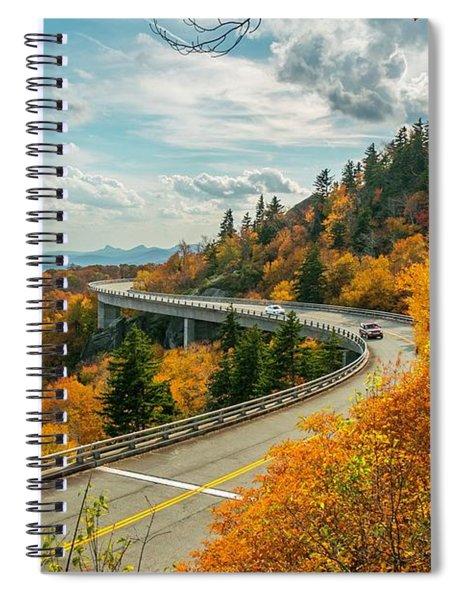 Linn Cove Viaduct Spiral Notebook