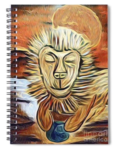Lion Of Judah II Spiral Notebook