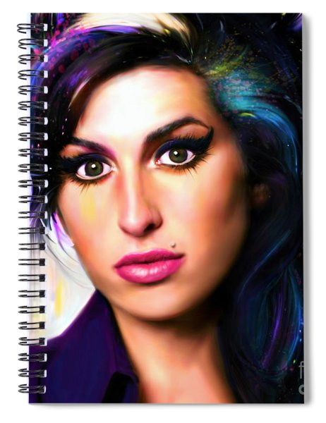 Lioness, Hidden Treasures Spiral Notebook