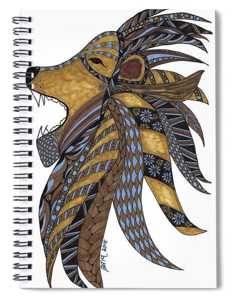 Roar Spiral Notebook