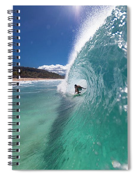 Lip Comes Down Spiral Notebook