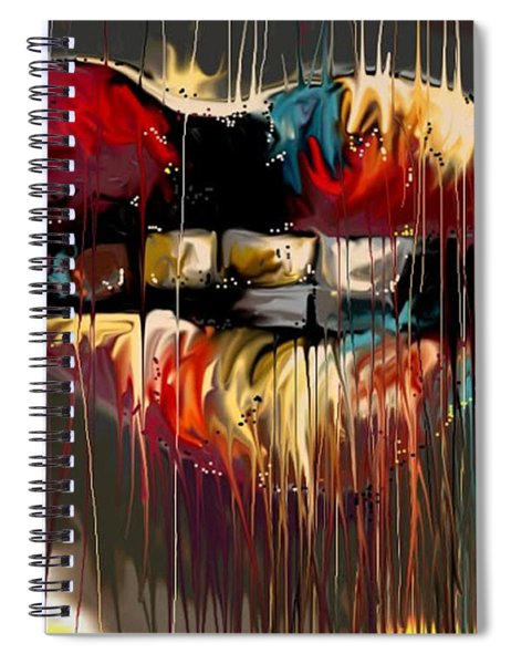 Lips Say It All Spiral Notebook