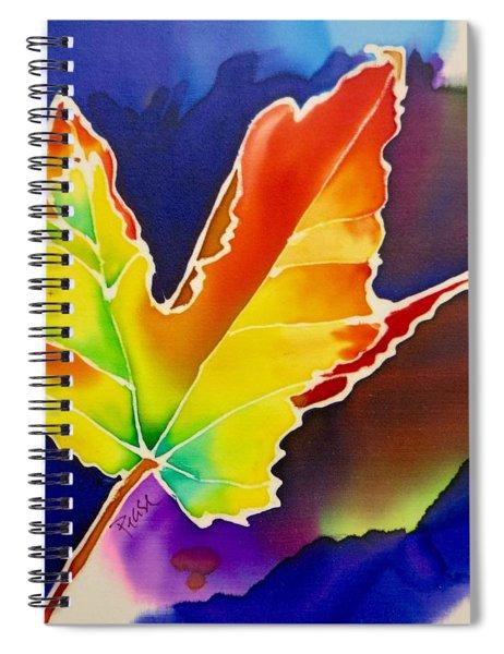 Liquid Amber Spiral Notebook
