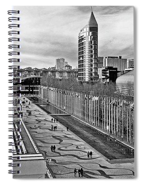 Lisboa - Portugal - Parque Das Nacoes Spiral Notebook