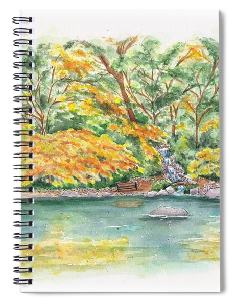 Lithia Park Reflections Spiral Notebook