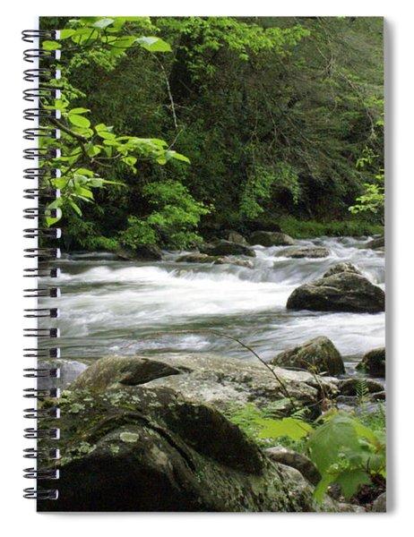 Litltle River 1 Spiral Notebook