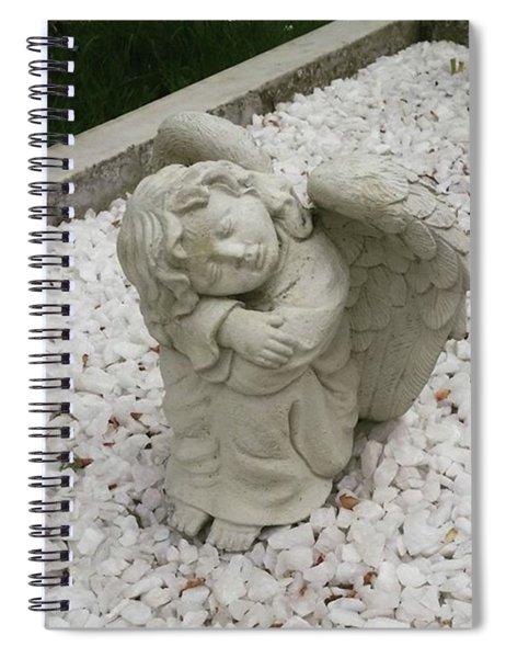 Little Angel Spiral Notebook