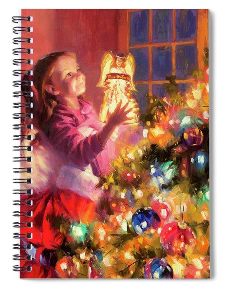 Little Angel Bright Spiral Notebook