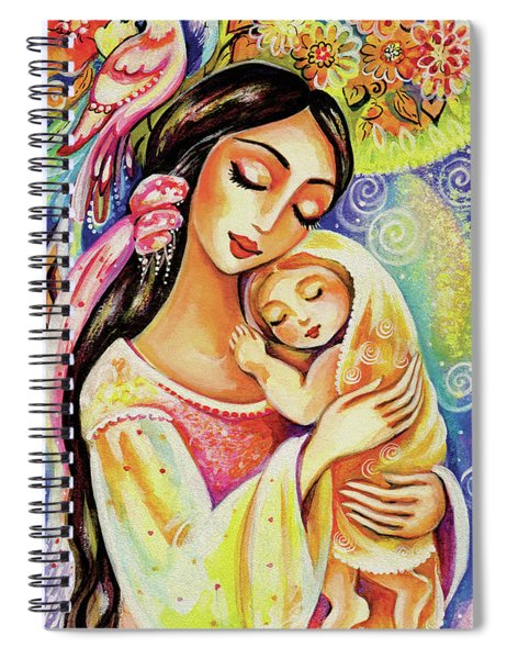 Little Angel Dreaming Spiral Notebook