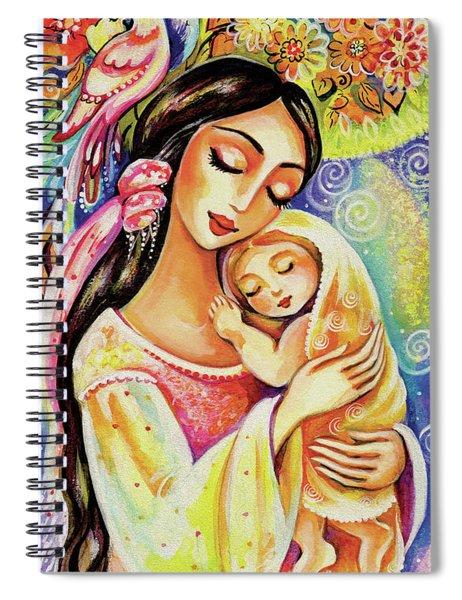 Little Angel Dreaming Spiral Notebook