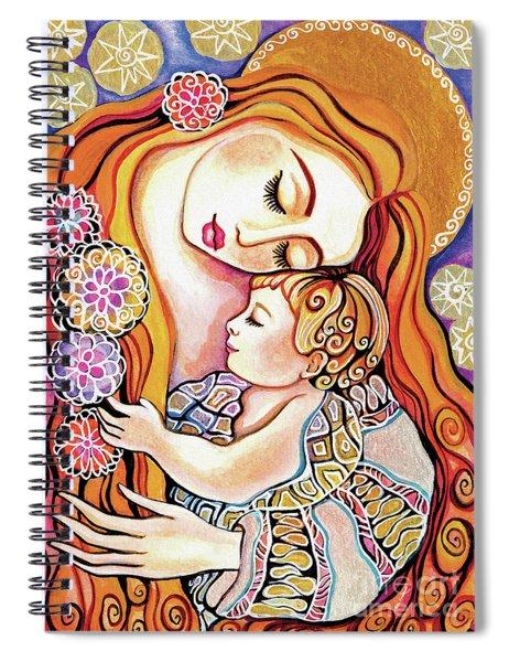 Little Angel Sleeping Spiral Notebook