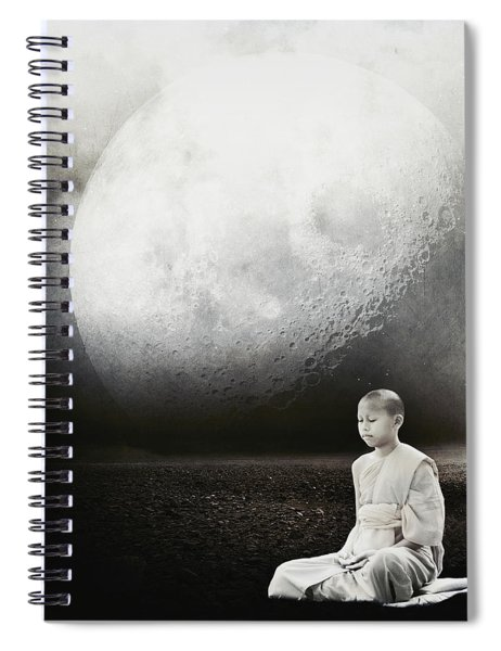 Little Buddha Spiral Notebook