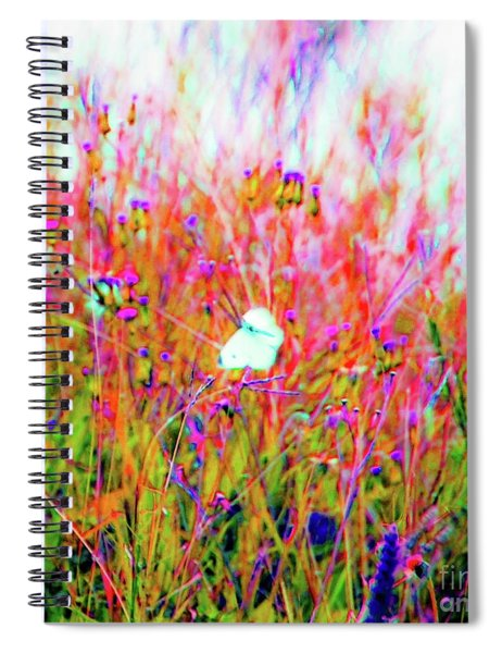 Little Butterfly Fly Spiral Notebook