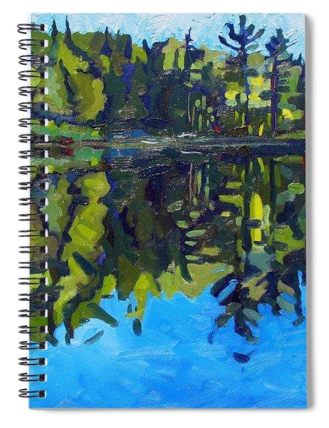 Little Clear Morning Spiral Notebook