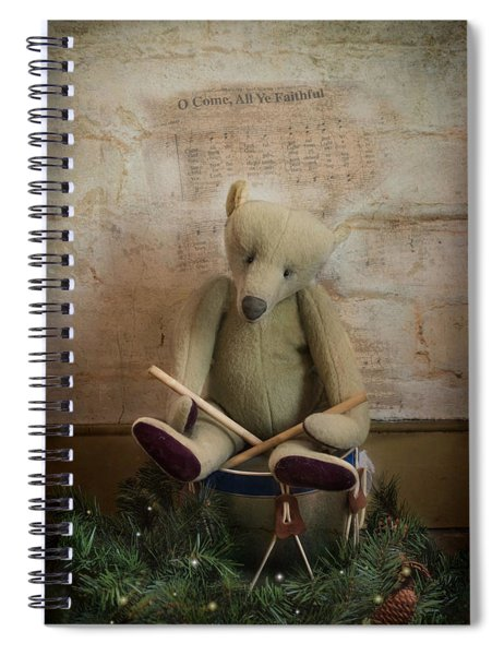 Little Drummer Bear Spiral Notebook