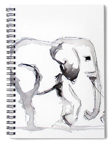 Little Elephant Family Spiral Notebook