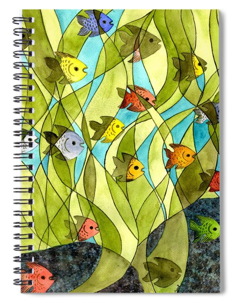 Little Fish Big Pond Spiral Notebook