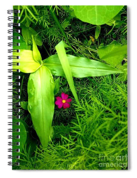 Little Flower Spiral Notebook
