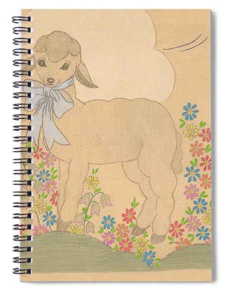 Little Lamb Spiral Notebook