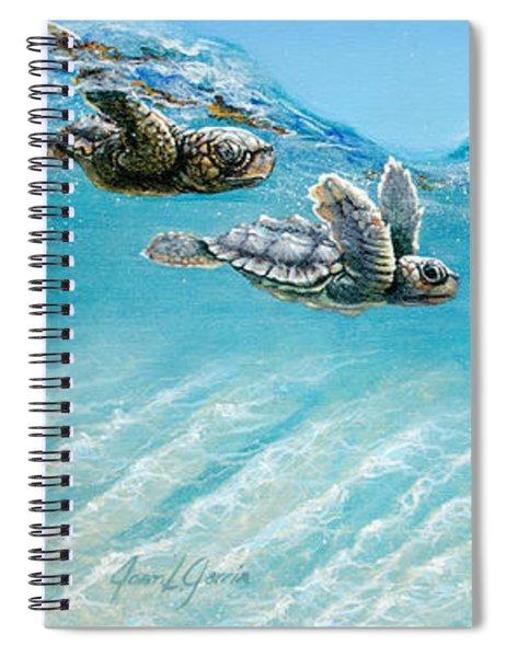Little Loggerheads Spiral Notebook
