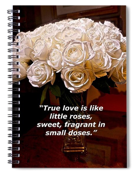 Little Love Roses Spiral Notebook