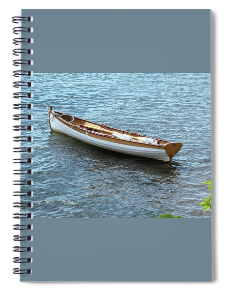 Little Mahagony Boat Spiral Notebook