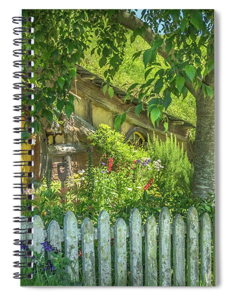 Little Picket Fence Spiral Notebook