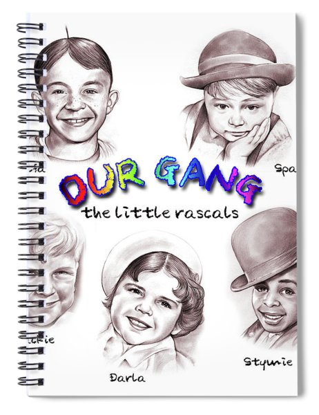 Little Rascals Spiral Notebook