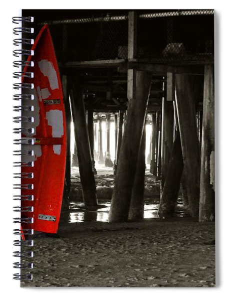 Little Red Boat IIi Spiral Notebook