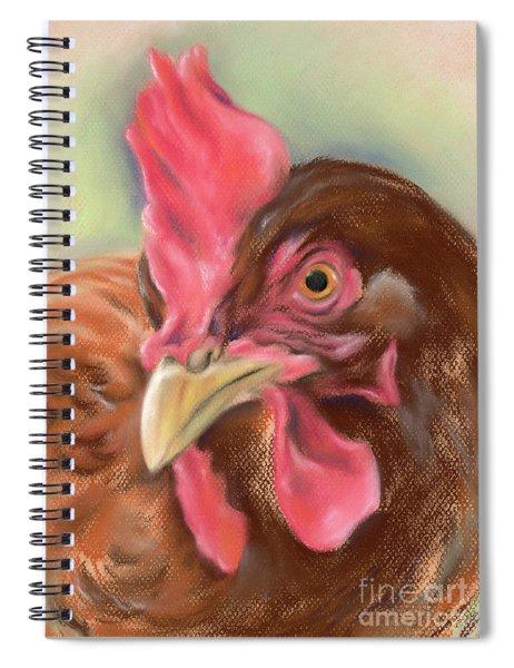 Little Red Hen Spiral Notebook