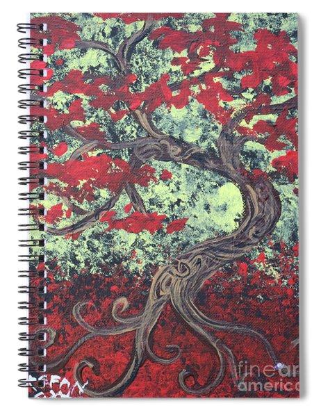 Little Red Tree Series 3 Spiral Notebook