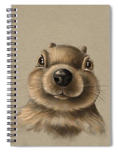 Little Squirrel Spiral Notebook