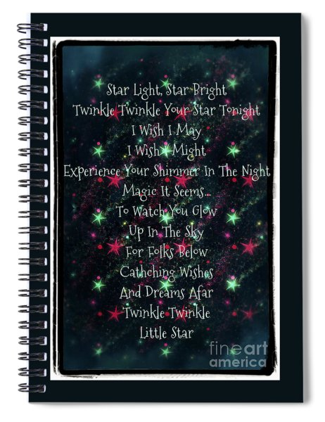 Little Star  Spiral Notebook
