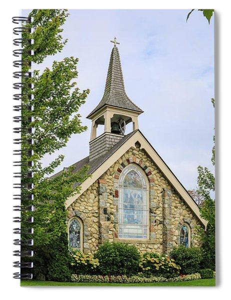 Little Stone Church Spiral Notebook