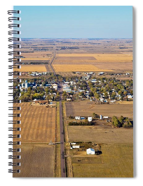 Little Town On The Prairie Spiral Notebook