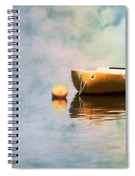 Little Yellow Boat Spiral Notebook
