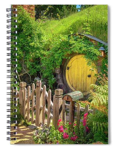 Little Yellow Door Spiral Notebook
