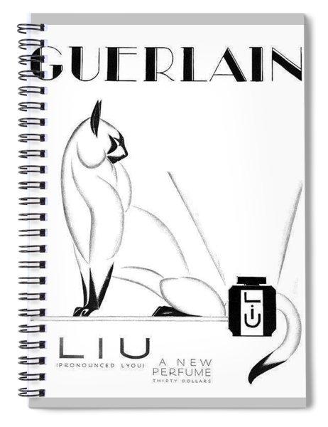 LIU Spiral Notebook by ReInVintaged