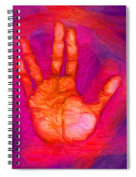 Live Long And Prosper Spiral Notebook