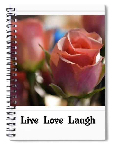 Live Love Laugh Spiral Notebook