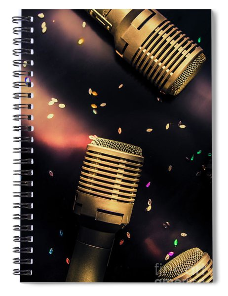 Live Musical Spiral Notebook