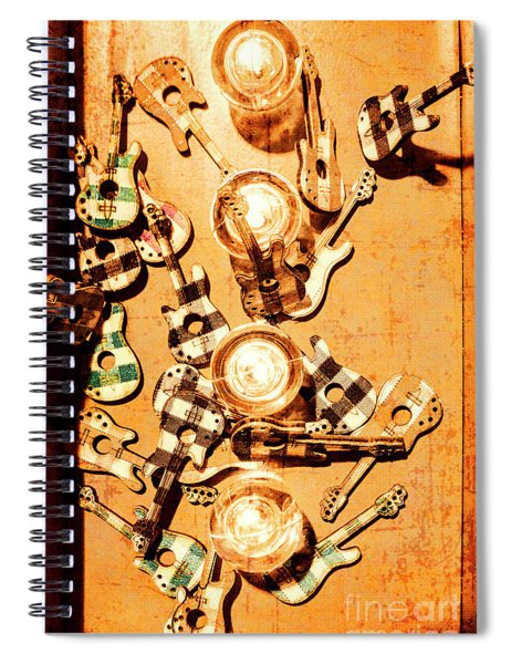Live Rock Show Spiral Notebook