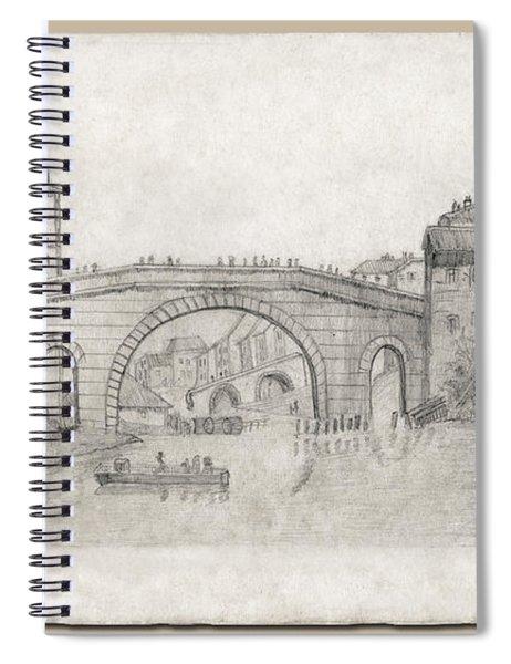 Liverpool Bridge Spiral Notebook