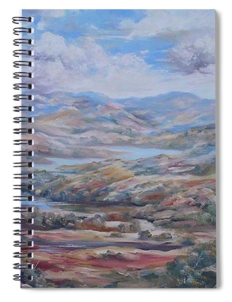 Living Desert Broken Hill Spiral Notebook